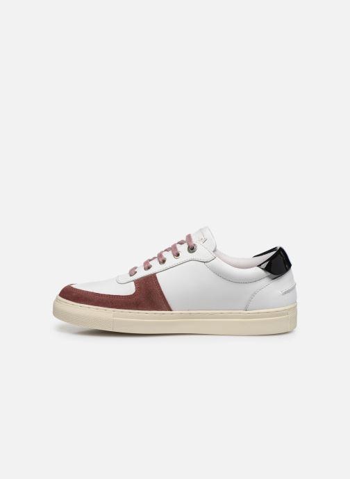 Sneaker Kickers SNIKLAN weiß ansicht von vorne