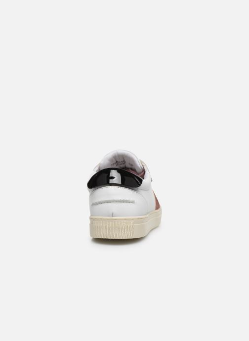 Sneakers Kickers SNIKLAN Bianco immagine destra