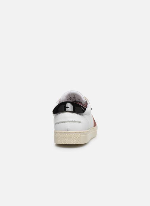 Sneaker Kickers SNIKLAN weiß ansicht von rechts