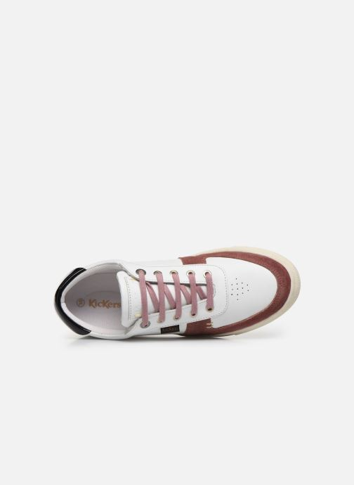 Sneakers Kickers SNIKLAN Bianco immagine sinistra