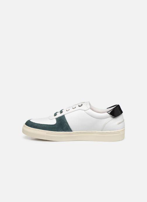 Sneakers Kickers SNIKLAN Bianco immagine frontale
