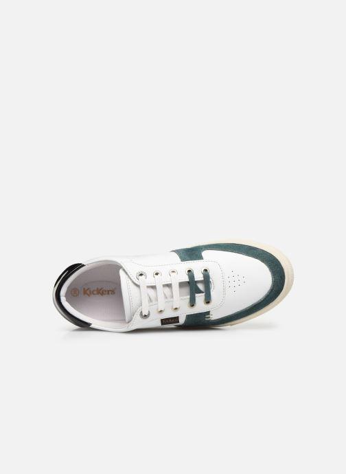 Sneakers Kickers SNIKLAN Bianco immagine sinistra