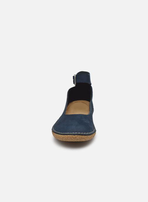 Ballerinas Kickers HONNORA blau schuhe getragen