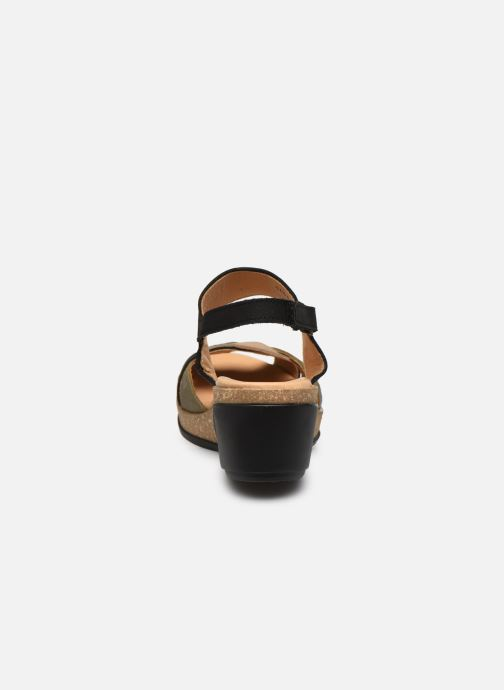 Sandales et nu-pieds El Naturalista Leaves 5008 PE2020 Noir vue droite