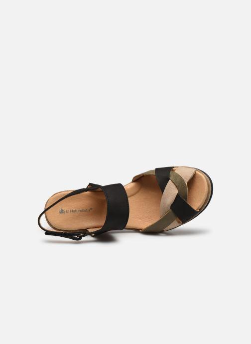 Sandales et nu-pieds El Naturalista Leaves 5008 PE2020 Noir vue gauche