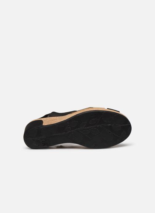 Sandales et nu-pieds El Naturalista Leaves 5008 PE2020 Noir vue haut