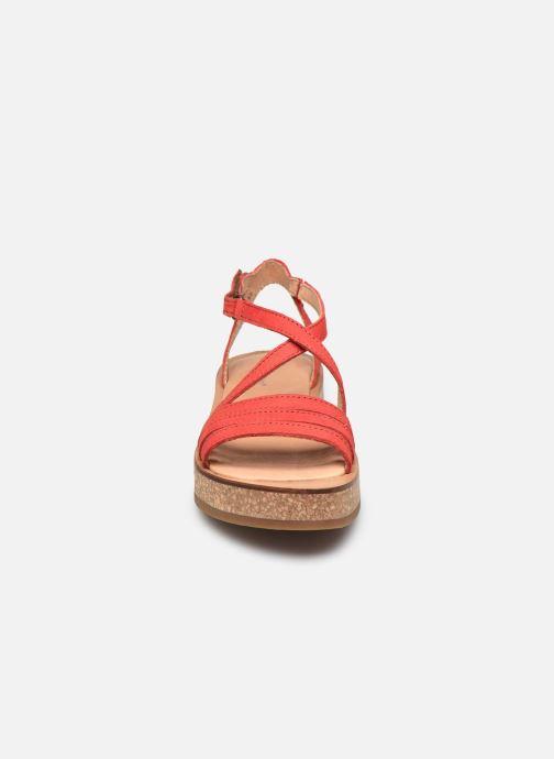Sandales et nu-pieds El Naturalista Tulbend N5592 PE2020 Orange vue portées chaussures