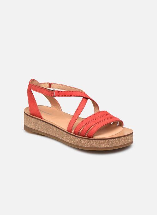 Sandales et nu-pieds El Naturalista Tulbend N5592 PE2020 Orange vue détail/paire