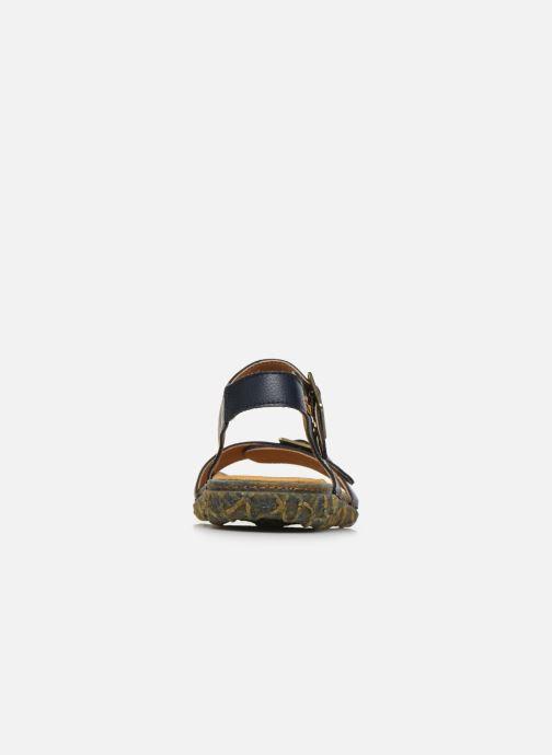 Sandali e scarpe aperte El Naturalista Redes Friendly Vegan N5503T PE2020 Azzurro immagine destra