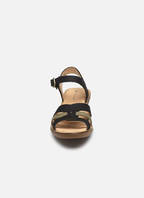 Sandales et nu-pieds El Naturalista Aqua N5364 PE2020 Noir vue portées chaussures