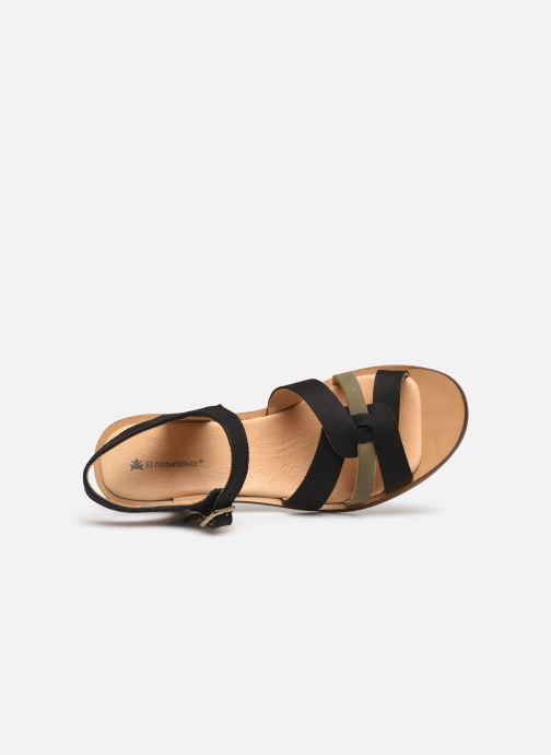 Sandales et nu-pieds El Naturalista Aqua N5364 PE2020 Noir vue gauche