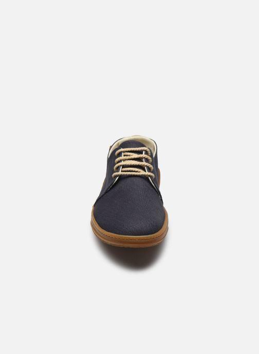 Sneaker El Naturalista Amazonas Friendly Vegan N5601T PE2020 blau schuhe getragen