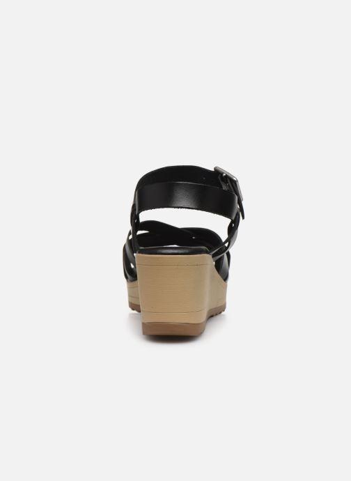 Sandalen Kickers WIDJIK schwarz ansicht von rechts