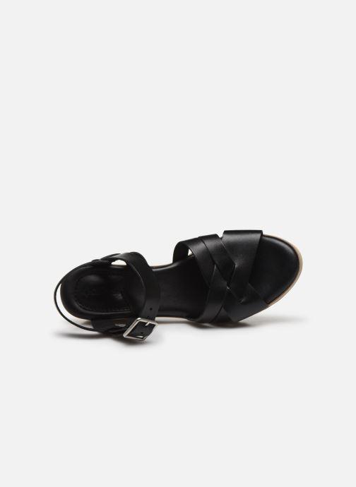 Sandalen Kickers WIDJIK schwarz ansicht von links