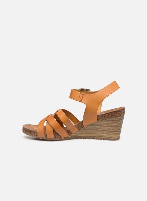 Sandales et nu-pieds Kickers SOLYNA Jaune vue face