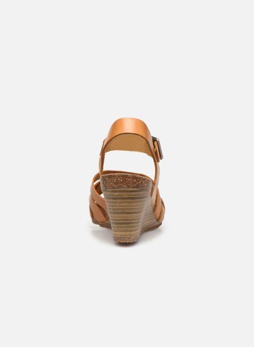 Sandales et nu-pieds Kickers SOLYNA Jaune vue droite