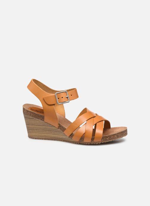 Sandales et nu-pieds Kickers SOLYNA Jaune vue derrière