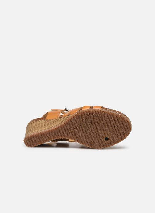 Sandales et nu-pieds Kickers SOLYNA Jaune vue haut