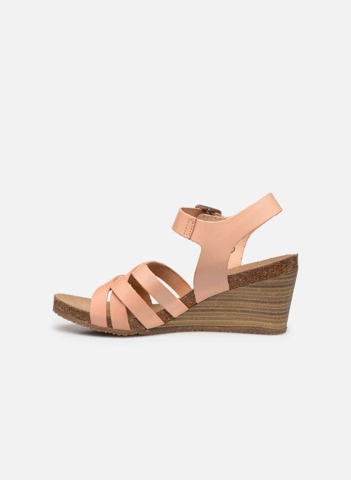 Sandali e scarpe aperte Kickers SOLYNA Rosa immagine frontale