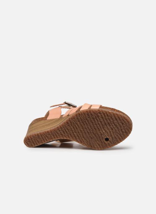 Sandali e scarpe aperte Kickers SOLYNA Rosa immagine dall'alto