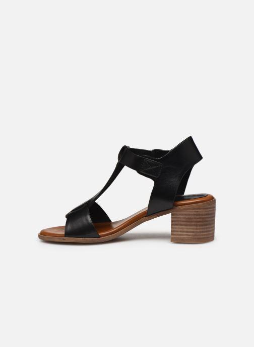 Sandali e scarpe aperte Kickers VALMONS Nero immagine frontale