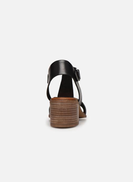Sandaler Kickers VALMONS Sort Se fra højre