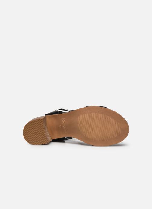 Sandali e scarpe aperte Kickers VALMONS Nero immagine dall'alto