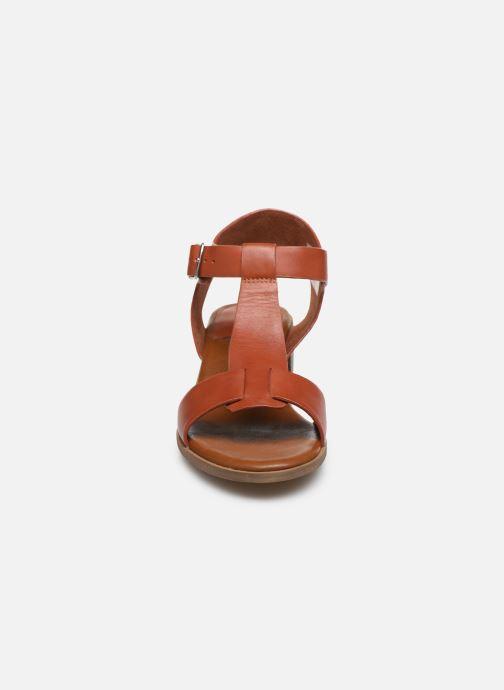 Sandalen Kickers VALMONS rot schuhe getragen
