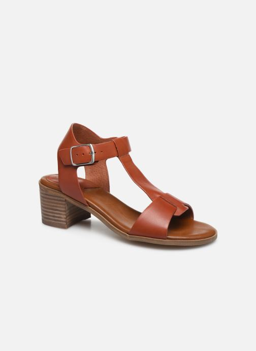 Sandalen Kickers VALMONS rot detaillierte ansicht/modell