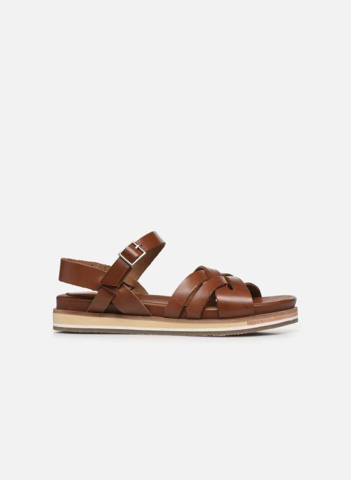 Sandalen Kickers OLIMPIK braun ansicht von hinten