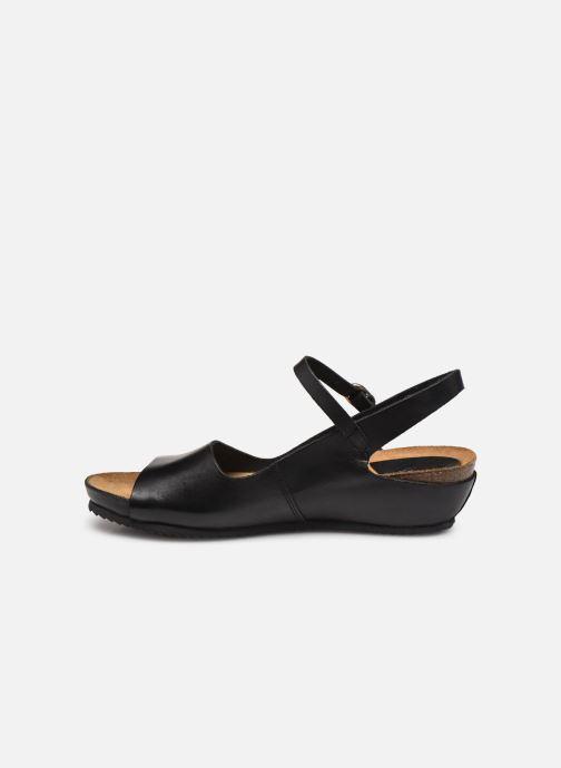 Sandales et nu-pieds Kickers TAKIKA Noir vue face