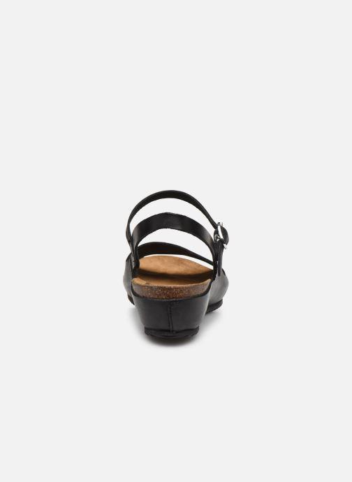 Sandales et nu-pieds Kickers TAKIKA Noir vue droite