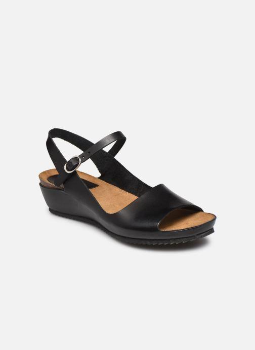 Sandales et nu-pieds Kickers TAKIKA Noir vue détail/paire
