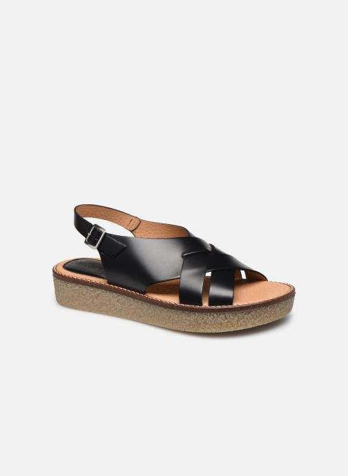 Sandalen Kickers VICTORYNE schwarz detaillierte ansicht/modell