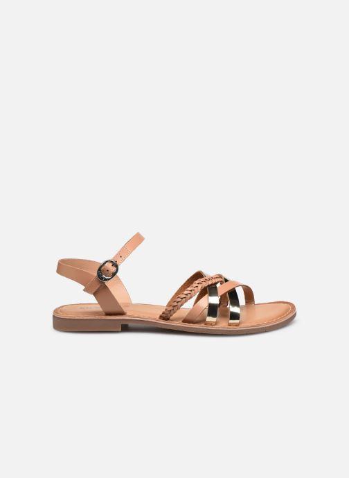 Sandales et nu-pieds Kickers ESTELLIE Marron vue derrière