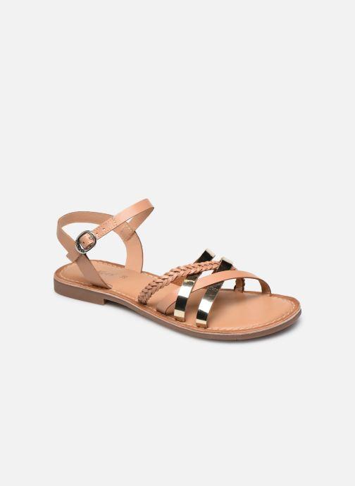 Sandales et nu-pieds Kickers ESTELLIE Marron vue détail/paire