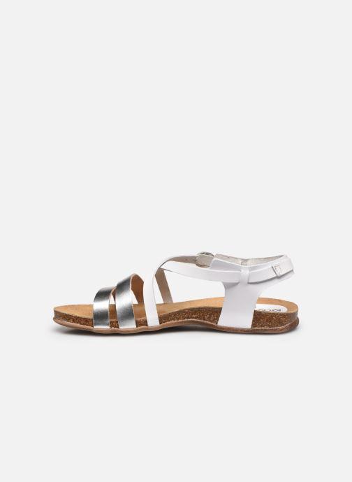 Sandales et nu-pieds Kickers ANATOMIUM Blanc vue face