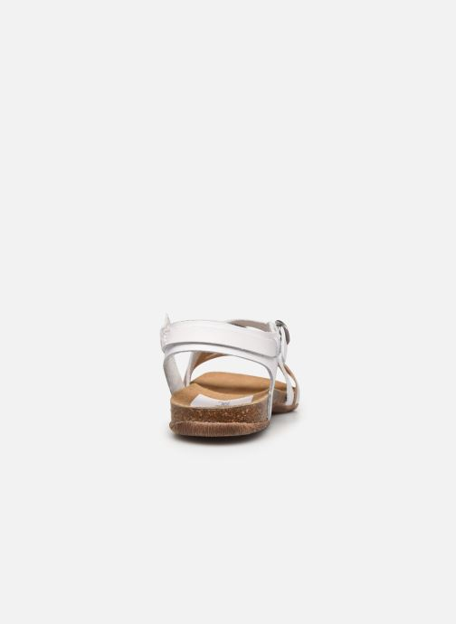 Sandales et nu-pieds Kickers ANATOMIUM Blanc vue droite