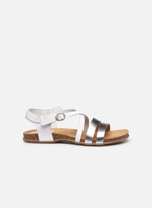 Sandales et nu-pieds Kickers ANATOMIUM Blanc vue derrière