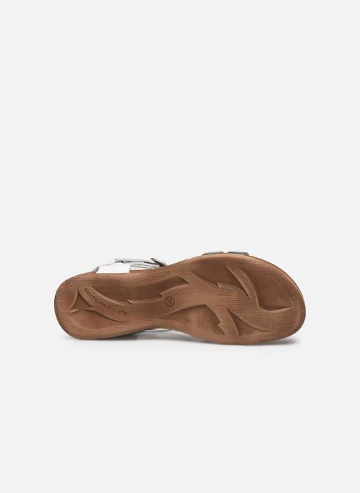 Sandales et nu-pieds Kickers ANATOMIUM Blanc vue haut