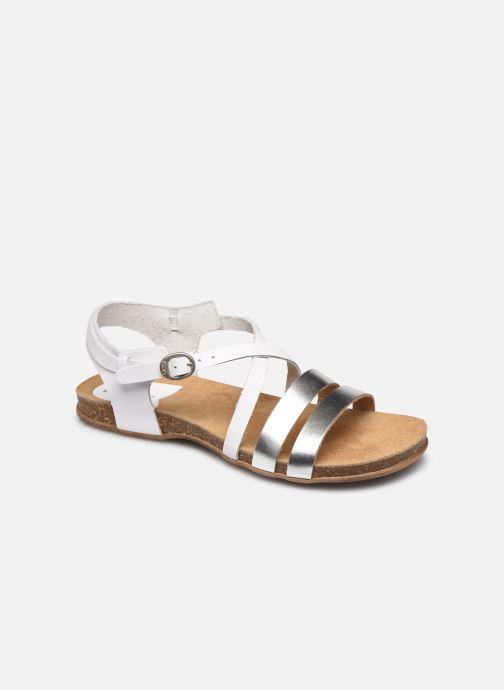 Sandales et nu-pieds Kickers ANATOMIUM Blanc vue détail/paire