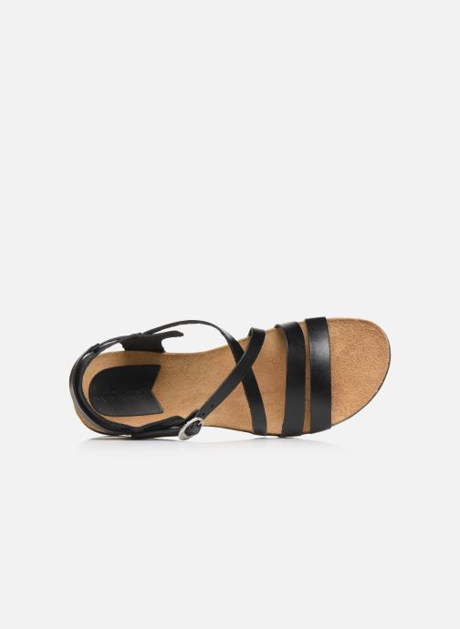 Sandales et nu-pieds Kickers ANATOMIUM Noir vue gauche