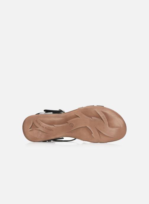 Sandales et nu-pieds Kickers ANATOMIUM Noir vue haut