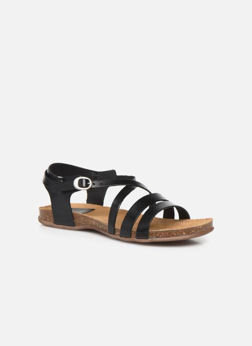 Sandales et nu-pieds Kickers ANATOMIUM Noir vue détail/paire