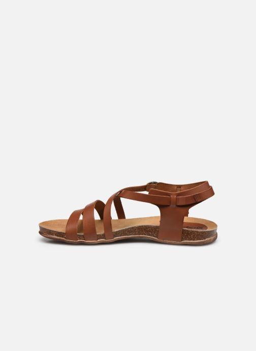 Sandales et nu-pieds Kickers ANATOMIUM Marron vue face