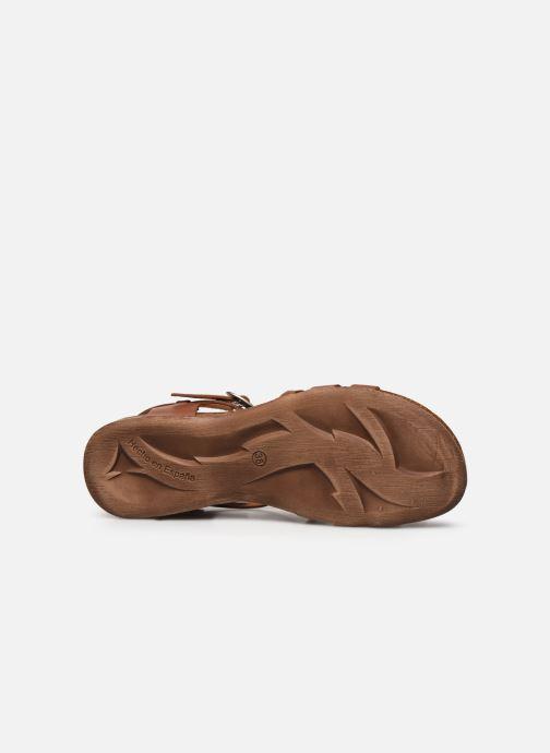 Sandales et nu-pieds Kickers ANATOMIUM Marron vue haut
