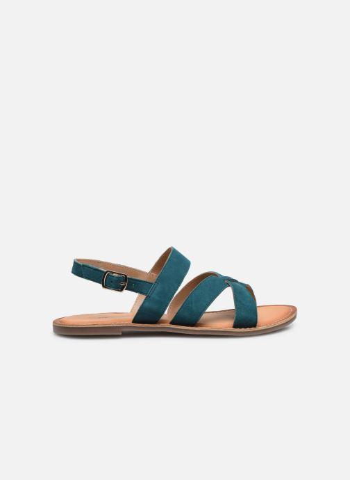 Sandales et nu-pieds Kickers DIBA-2 Bleu vue derrière