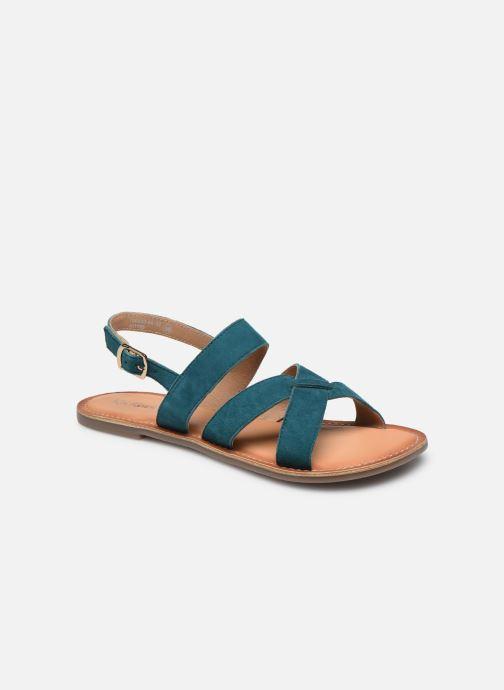 Sandales et nu-pieds Kickers DIBA-2 Bleu vue détail/paire