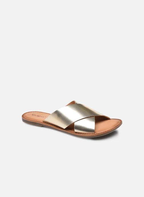 Clogs & Pantoletten Kickers DIAZ-2 gold/bronze detaillierte ansicht/modell