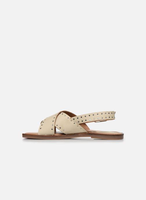 Sandalen Kickers KICLA Wit voorkant